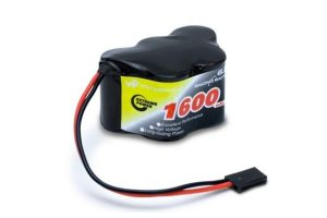 Receiver battery NiMH 6,0V 1600mAh