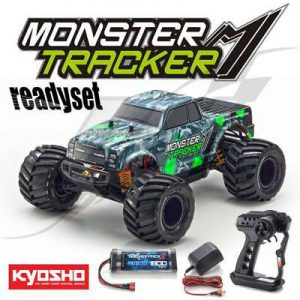 Kyosho-Monster-Truck-110-2WD-Readyset-Green
